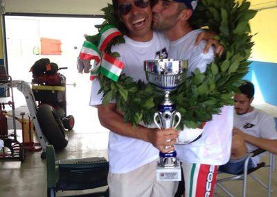 Saltarelli vince a Vallelunga