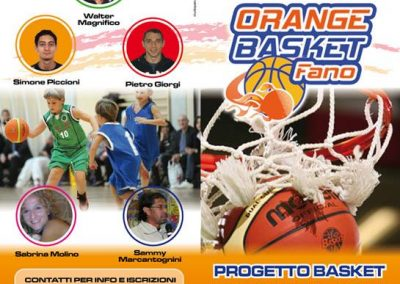 Orange Basket a Fano