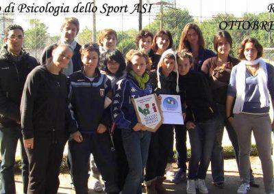Corso PsicoSport Roma 2° Liv.