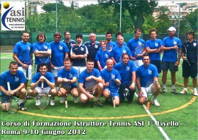 Corso Istruttori ASI Tennis 1° Liv