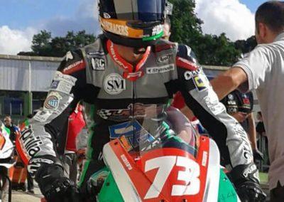 CIV (motociclismo): Dal 17° al 4° posto, l'impresa di Simone Saltarelli