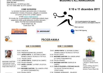 Corso Internazionale Maestri di Tennis Jesi
