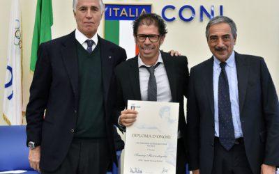 Sammy Marcantognini vince il 53° premio letterario CONI